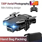 rcraftn Mini Drone Pliant Et Caméra Vidéo en Direct S66 720P 4k Drone WiFi FPV Flying Drone Altitude Hold and Transmission, FPV Flying Drone with GPS Return Home,
