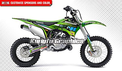 Complete Complete Senge Graphics kit Merica 2001-2013 KX 85//100 Compatible with Kawasaki