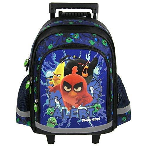 Angry Birds-Zaino trolley con rotelle Zaino-Cartella da scuola
