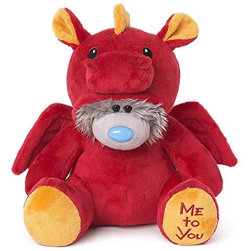 Me To You AP901037 Tatty Teddy Red Dragon Onesie Bär, Nylon/a