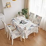 sans_marque Paño de mesa, puede limpiar el mantel de mesa, limpiar la cubierta protectora impermeable de la mesa, se utiliza para la cocina picnic al aire libre interior50 x 150 cm