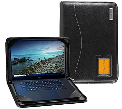 Preisvergleich Produktbild Navitech Broonel - Contour Series - Schwarz Leder Schutzhülle Passend kompatibel mit dem Schenker Slim 13 Laptop L17