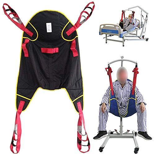 BAODANF Ganzkörper-Patientenlifter,Sling Treppenrutsche Transfergurt,All-Inclusive-Hüfte,Design mit geteiltem Bein für medizinische Geräte zum Heben von Toilettenschlingen