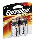 TECHNUITY INC E93BP2 Battery 2-Pack Energizer MAX C