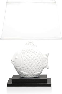 Dennis East Ceramic Fish Lamp