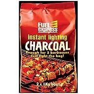 Instant Light Charcoal 1Kg Bag