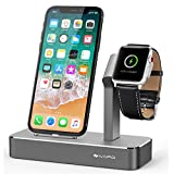 iVAPO Ladestation für iPhone und Apple Watch Series 3/ Apple Watch Series 3 with Cellular/ Apple...