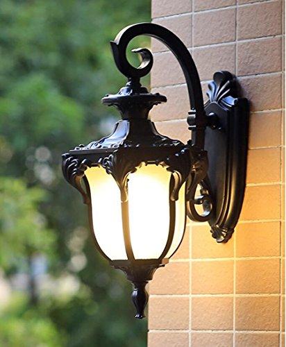 r¨¦tro moderne balcon minimaliste salon patio ext¨¦rieur lampe de mur imperm¨¦able all¨¦e villa am¨¦ricaine europ¨¦enne Muraille de Chine