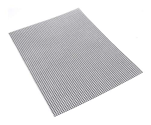 Barbecue Grill Mat, Non-Stick Barbecue Grill Reusable Teflon Mats 33 × 40 Centimeters (Color : 3 Pcs)