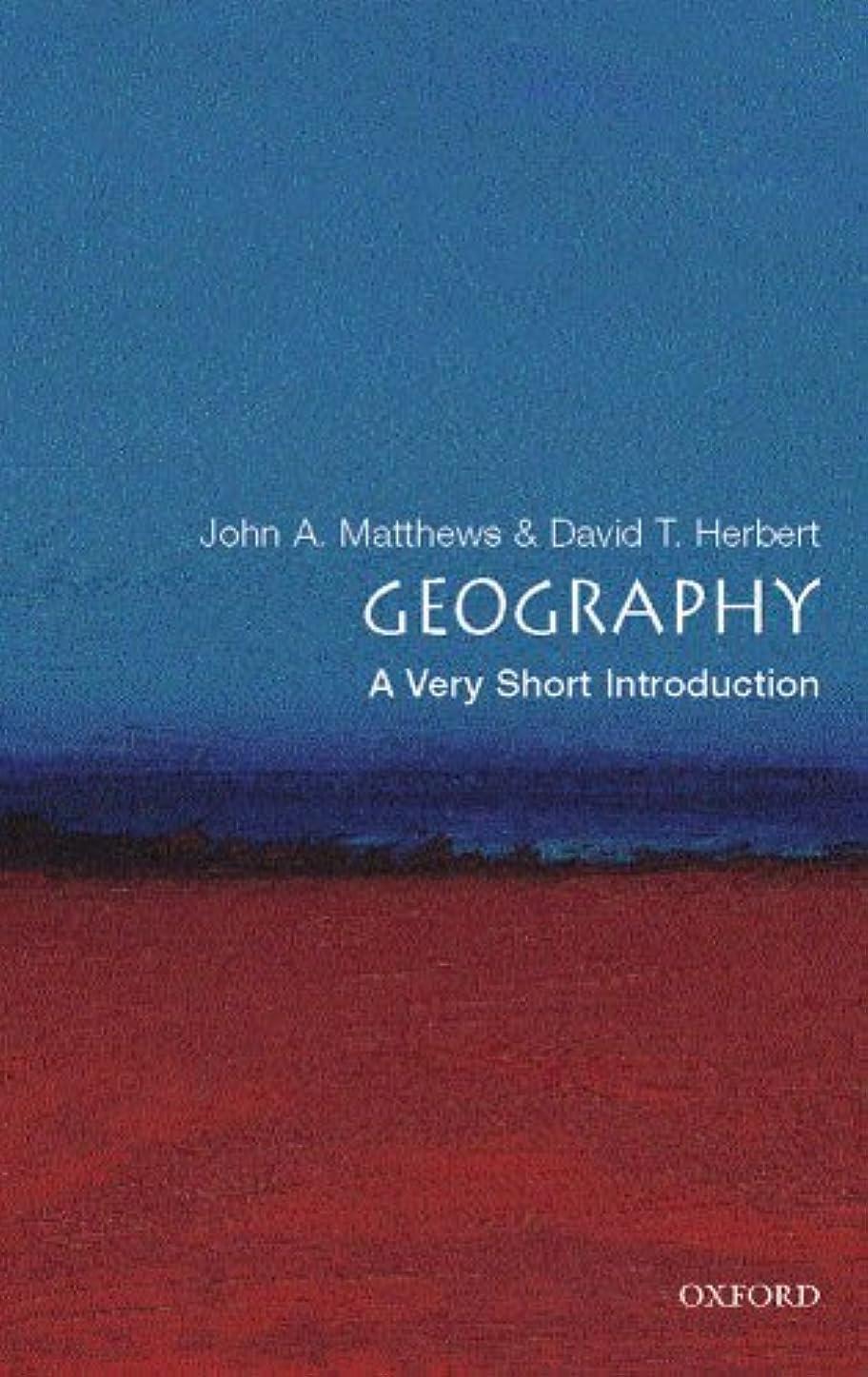 ネットエキサイティング壊れたGeography: A Very Short Introduction (Very Short Introductions) (English Edition)