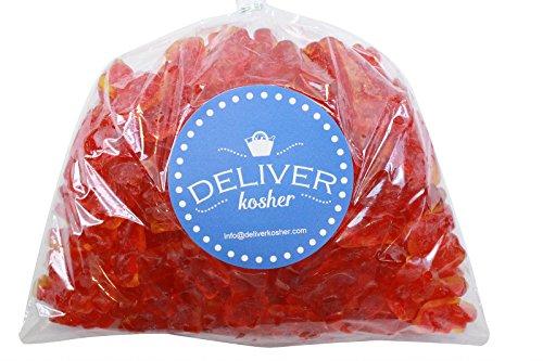 Deliver Kosher Bulk Candy - Jelly Filled Gummy Bears - 1lb Bag