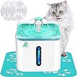 Bonve Pet 2.5L/84oz Cat Water Fountain Automatic Pet Water Fountain Intelligent...