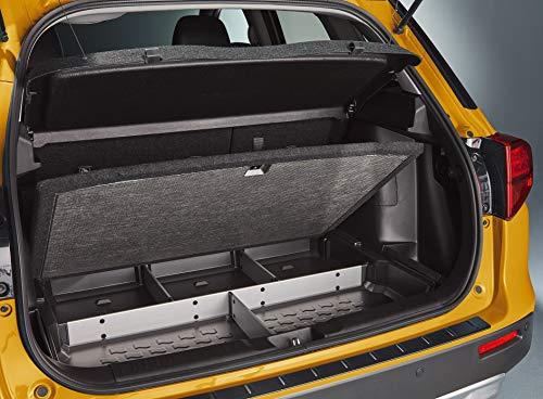 Suzuki Vitara Original kofferbakorganizer met scheidingswanden, aluminium