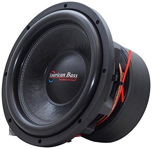 American Bass USA HD 15D2 4000 Watt Max Dual 2Ohm Subwoofer