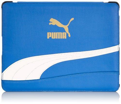 PUMA Tablet Tasche Bytes Cover, Victoria Blue-White, 25 x 1.8 x 20.5 cm