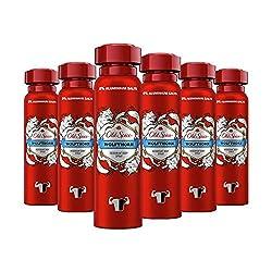 Old Spice Wolfthorn Deodorant Bodyspray | 6er Pack (6 x 150 ml) | Deo Spray Ohne Aluminium Für Männer | Männer Deo Mit Langanhaltendem Duft