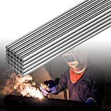 30 Pieces Aluminum Welding Rods 0.08 x 10 Inch Universal Low Temperature Welding Cored Wire Aluminum Repair Rods for Electric Power Drill Tap Polish Paint Supplies