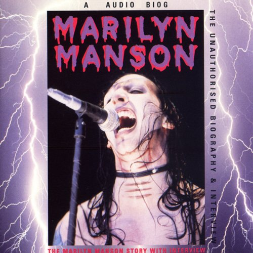 Marilyn Manson Story audiobook cover art
