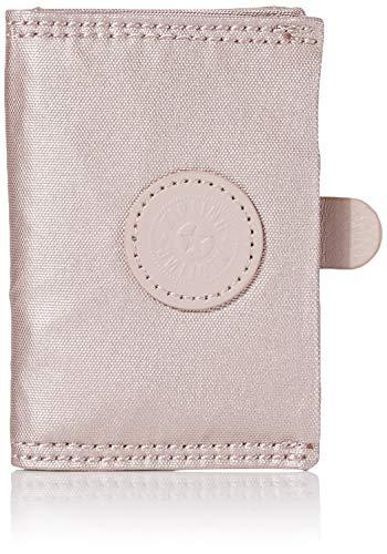Kipling - Card Keeper, Carteras Mujer, Rosa (Metallic Rose), 7x10x1 cm (B x H T)