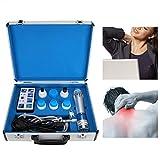 Macchina per Terapia ad Onde d'urto, massaggiatore elettromagnetico extracorporea palmare Professionale per alleviare Il Dolore con Onde d'urto con CE(Spina UE 220V)