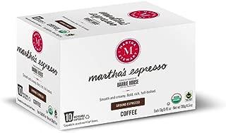 Martha Stewart Coffee Martha's Espresso by Barrie House - Single Serve Capsules 10 count