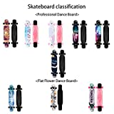 Zoom IMG-2 42 47 longboard skateboard con