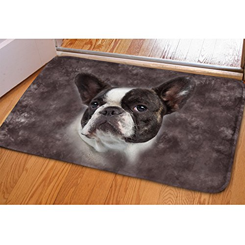 Showudesigns Fußmatte Boston Terrier, 61 x 40,6 cm