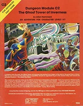 The Ghost Tower of Inverness (Module C2) (Advanced Dungeons & Dragons) - Book  of the Advanced Dungeons and Dragons Module #C4