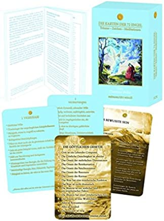 Die Karten der 72 Engel - Träume - Zeichen - Meditationen: Großf. Kartenset