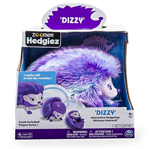 Zoomer Hedgiez, Dizzy, Interactive Hedgehog with Lights, Sounds and Sensors, by Spin Master