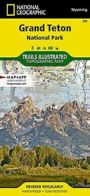 Grand Teton National Park (National Geographic Trails Illustrated Map, 202) by National Geographic Maps