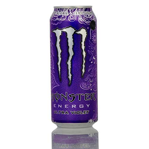 Monster Energy Ultra Violet Zero Calories + Zero Sugar