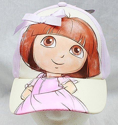 Baseball Cap - Dora the Explorer - Sketch Bow violet (Youth Enfants) nouveau Hat by Dora the Explorer