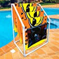 WOW Sports World of Watersports Towel Rack Heavy Duty- Collapsible for Pool, Lake, RV, Included Accessory Bag, Storage Bag, Mega Beach Towel