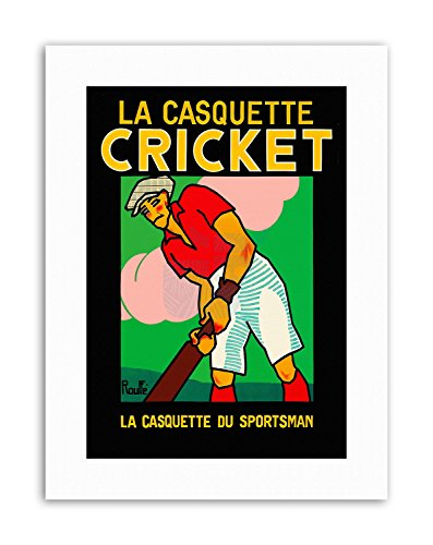 Wee Blue Coo LTD Clothing Fashion HAT Cricket BAT France Poster Sport Canvas Art Prints