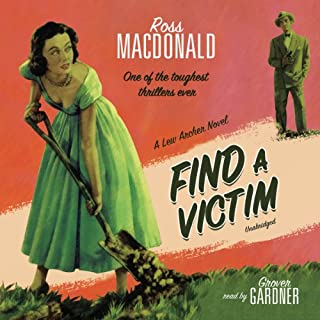 Find a Victim audiobook cover art