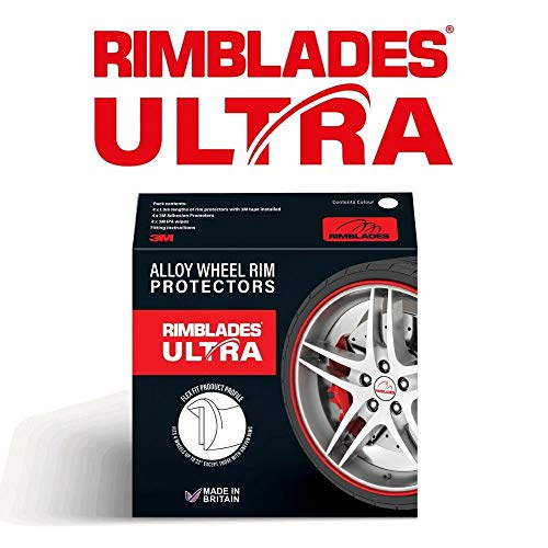 Rimblades Ultra Alloy Wheel Rim Protectors (10 Colour Options - Black)
