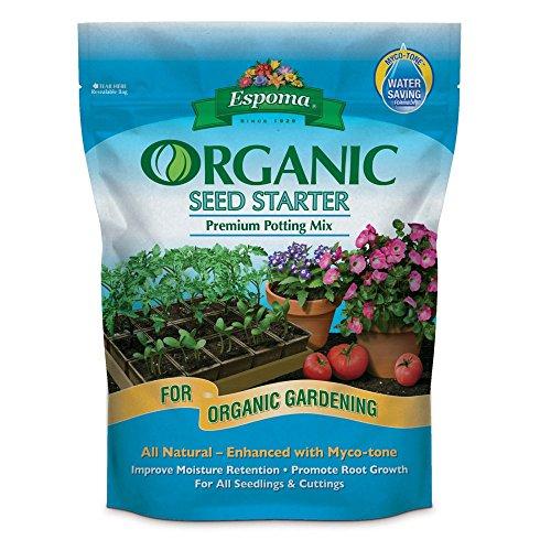 Espoma Ss16 16 Quart Organic Seed Starter Premium Potting...