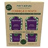 Kit Shampoo e Condicionador Antiqueda Phytoervas, PHYTOERVAS, Roxo