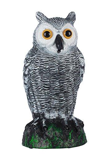 skycabin Repelentes Premium de Aves Colgantes de Anteojeras de Búho Para Palomas, Carpinteros, Patos Y Otras Especies
