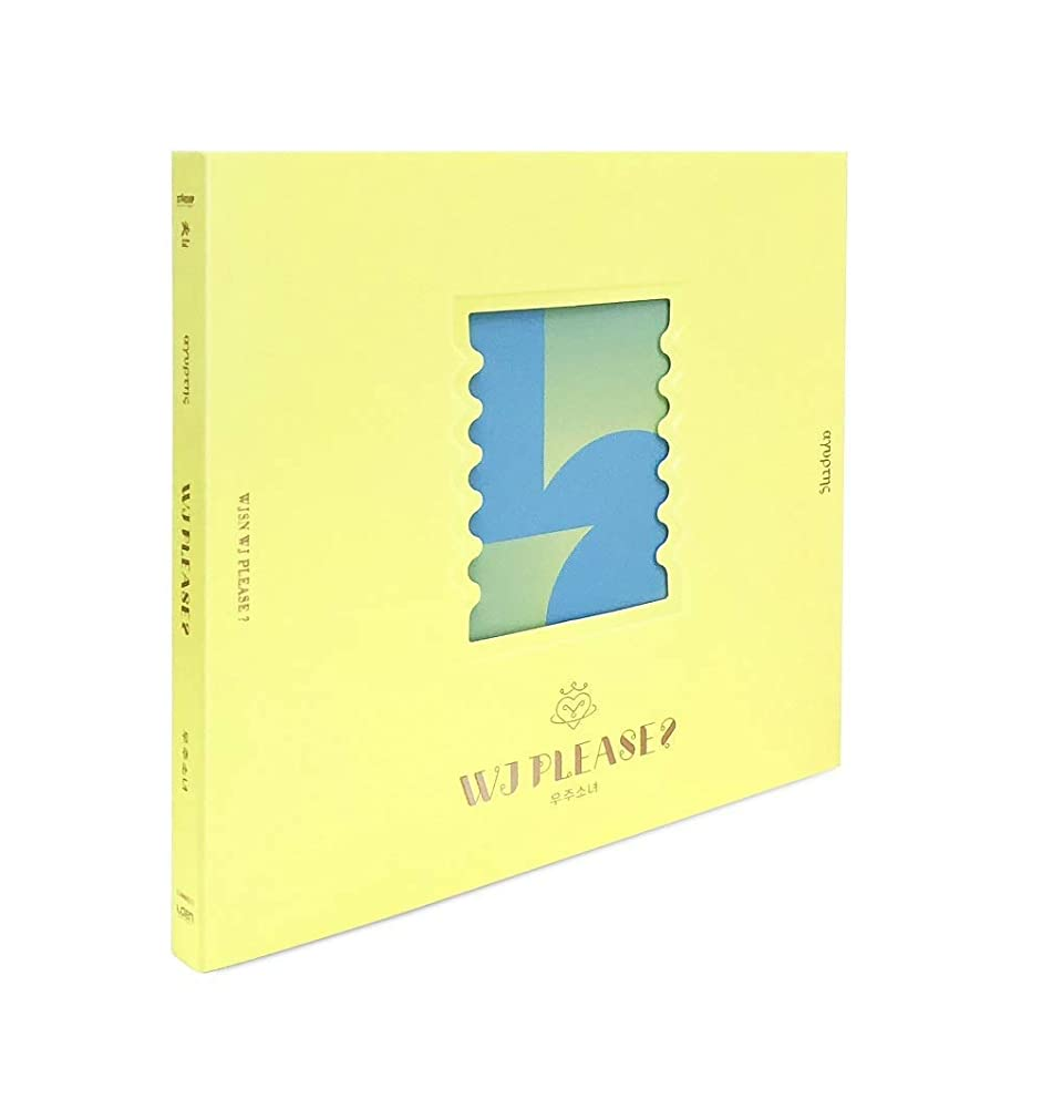 Cosmic Girls WJSN - [WJ Please?] 5th Mini Album Yellow Ver CD+1p Poster+94p PhotoBook+1p PhotoCard+PreOrder K-POP Sealed