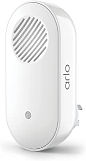 Arlo Technologies Chime 2 | Accessory | Audible Alerts | Built-in Siren | Customizable Melody | Connections Direct to Wi-F...