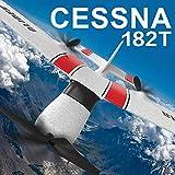 Donci Z53 RC Avion 2.4GHz Importé Scope EPP Télécommande Avion RC Planeur Avion Jouet Avion RC Avion pour Adultes et Enfants Télécommande Planeur