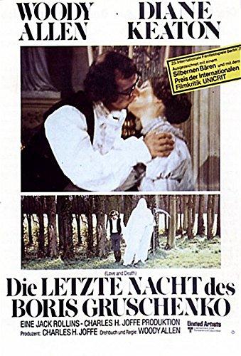 Die Letzte Nacht des Boris Gruschenko (1974) | original Filmplakat, Poster [Din A1, 59 x 84 cm]