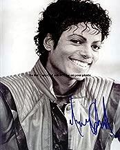 Michael Jackson Autographed Preprint Signed 11x14 Poster Photo 18