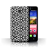 Stuff4 Phone Case for Huawei Ascend Y550 LTE Black Fashion