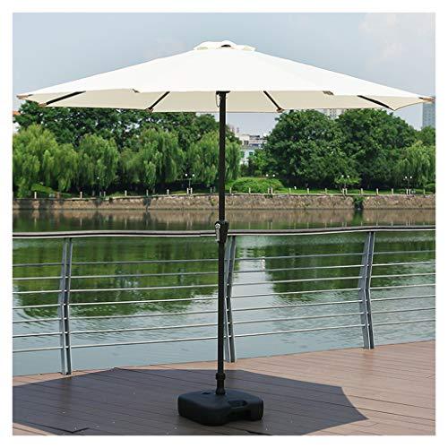 YDDZ Sombrillas de Jardín al Aire Libre Sombrillas de Terraza Mangos de Sombrilla de Manivela Soporte de 8 Varillas Adecuado para Céspedes Jardines Terrazas Patios y Piscinas