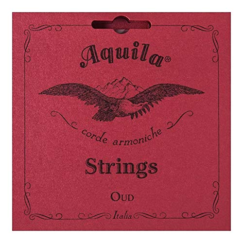 Aquila AQ O NN 1O New Nylgut Oud Set (Turkish Tuning, Normal Tension)