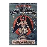 Baphomet Französischer Mason Satan Adoration Poster