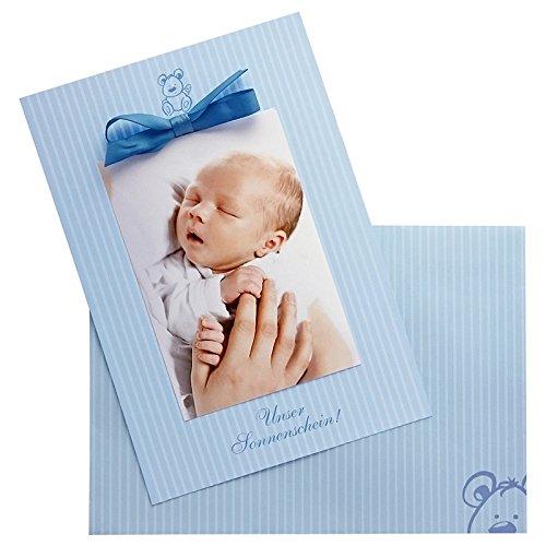 Grußkarten zur Geburt, Babykarten im Set